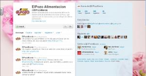Perfil de Twitter ElPozo