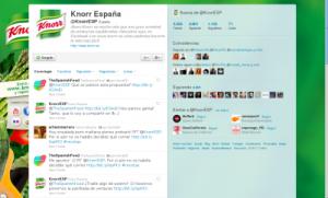Twitter de Knorr España