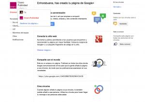 Google+ Page paso a paso