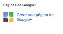 Logo páginas Google Plus