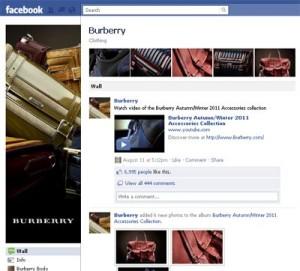 Fanpage Burberry
