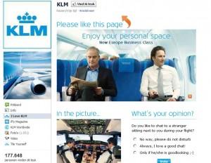 KLM Airlines Facebook
