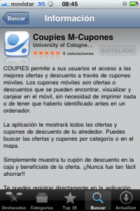 App de Mango para iPhone