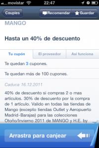 App Mango iPhone