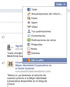 Ver Registro de la actividad Timeline Facebook