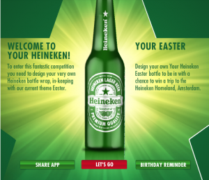 Heineken Bottle Concept