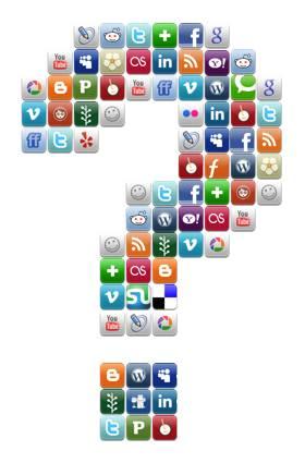 No estar en todas las redes sociales