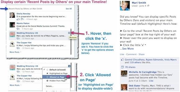 Consejos de Facebook