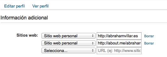 Sitios web linkedin