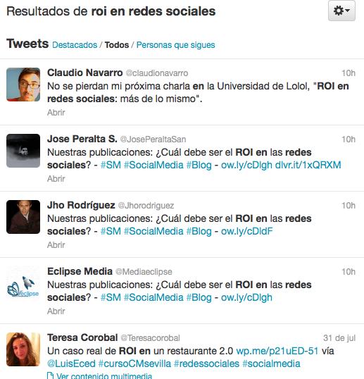 Investigacion en Twitter