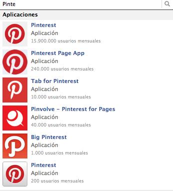 Pinterest Tab Facebook