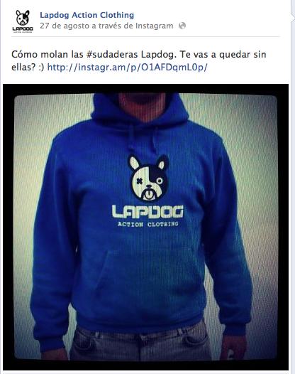 Lapdog Clothing Historia Patrocinada