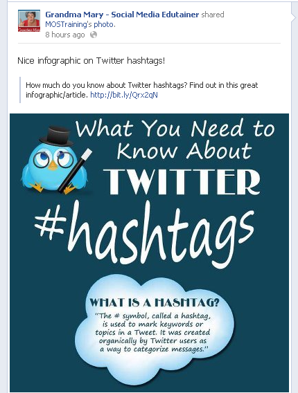 Hashtag Infografías