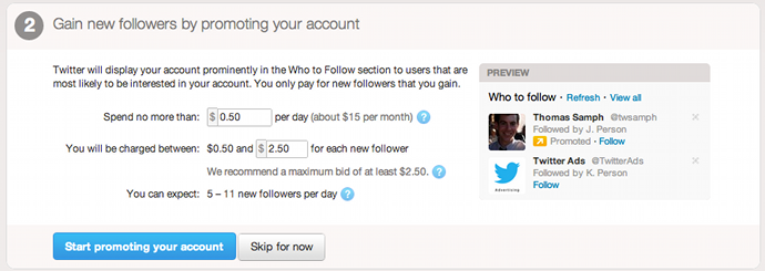 Como usar twitter ads