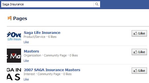 Marca Saga Insurance