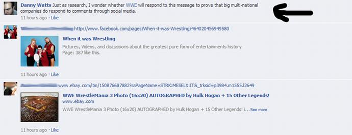 WWE no responde 11 horas
