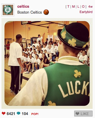 Boston Celtics Instagram