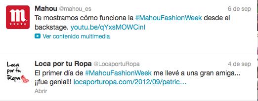 Mahou Fashion Week