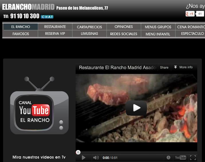 Canal Youtube El Rancho
