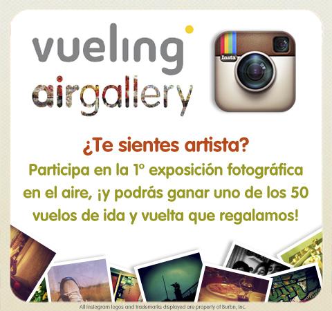 Vueling Instagram Contest