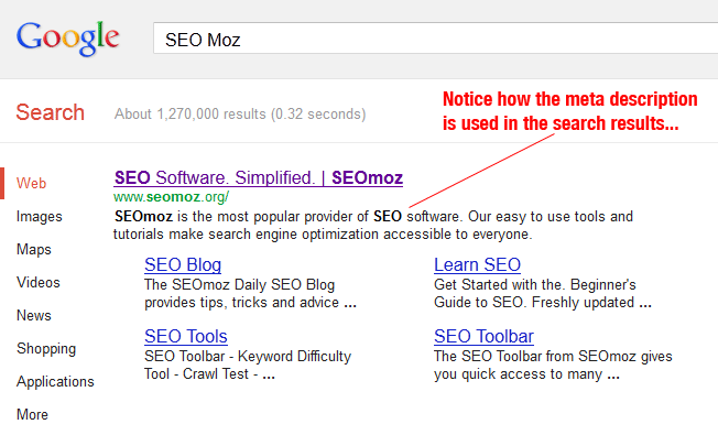 SEO Moz Description