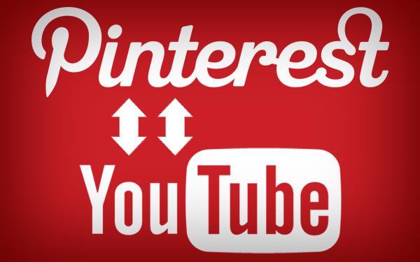 Pinteresr y Youtube