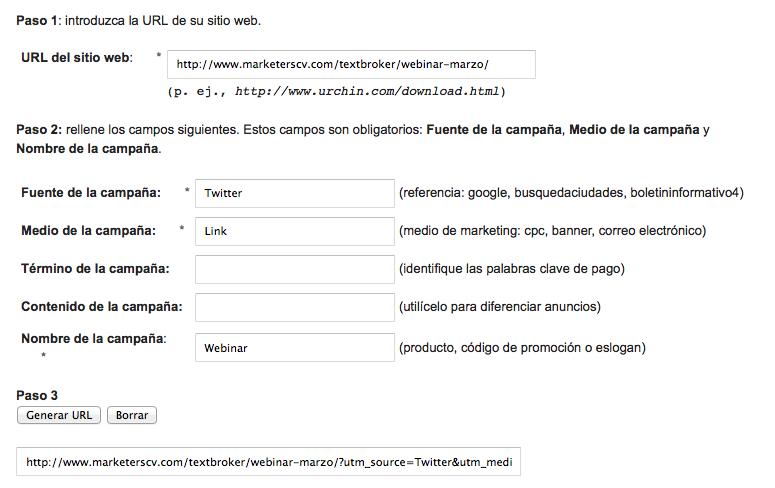 Twitter URL Builder