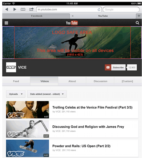 Diseñar canal Youtube correctamente