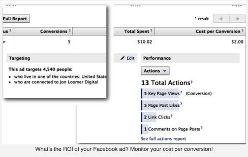 Medir ROI en Facebook
