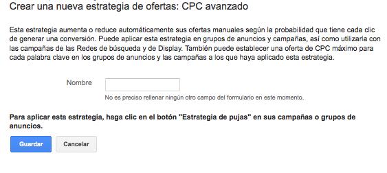 CPC avanzado