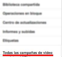 Campañas Avanzadas de Vídeo