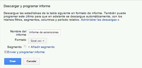 Descargar Informe Extensiones