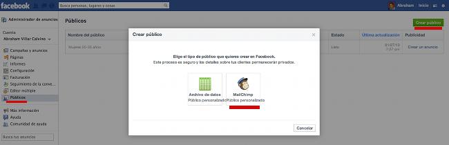 CrearPublicoFacebook