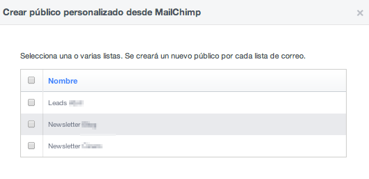 Mailchimp_Listas