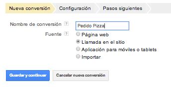 Codigo Conversiones Configuracion